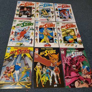 The Young All-Stars Comic Lot